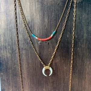 Stella & dot layered necklace